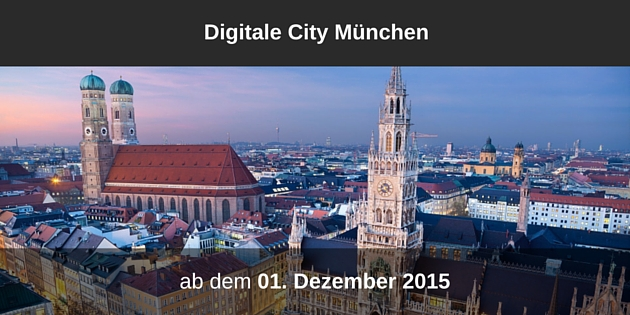 DigitaleCityMünchen_Start
